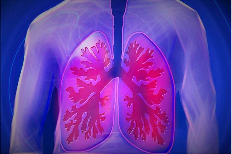 Researchers identify 'violent' processes that cause wheezing in the lungs