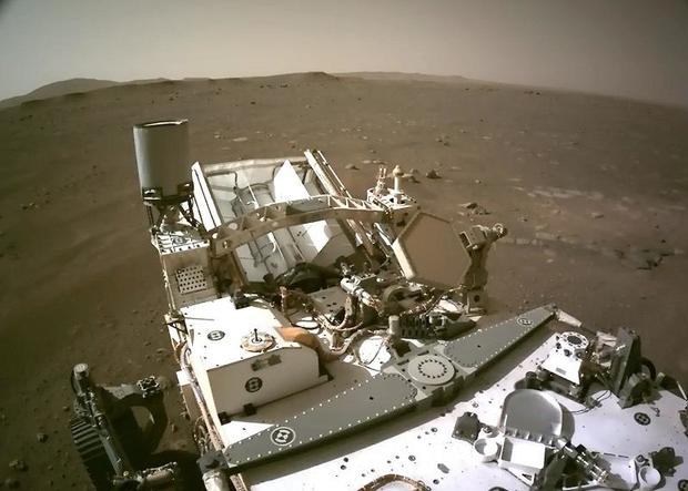 NASA unveils never-before-seen video from Mars rover landing on the red planet
